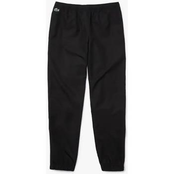 Vêtements Pantalons Lacoste Pantalon de survêtement  SPORT léger avec bandes siglées Noir