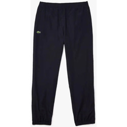 Vêtements Homme Pantalons de survêtement Lacoste Pantalon de survêtement léger et déperlant  Bleu marine Bleu Marine