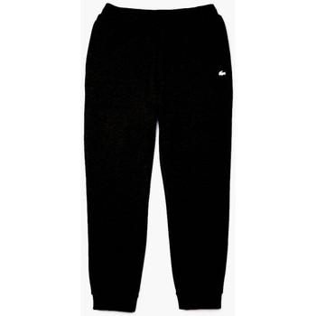 Vêtements Homme Pantalons de survêtement Lacoste Pantalon de jogging  en coton | XH7182-031 Noir