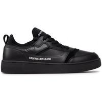 Chaussures Homme Baskets mode Calvin Klein Jeans CUPSOLE LACEUP Noir