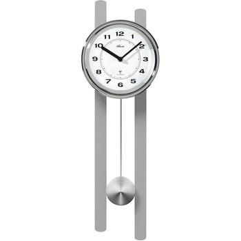 Maison & Déco Horloges Atlanta 5105/19, Quartz, White, Analogue, Classic Blanc