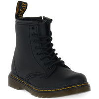 Chaussures Enfant Boots Dr Martens 1460 BLACK SOFTY T Nero