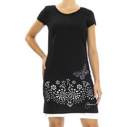 Vêtements Femme Robes courtes Desigual 57V20N0 Noir