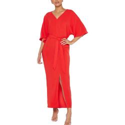 Vêtements Femme Robes longues Vila 14057271 Rouge