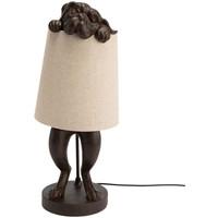 Maison & Déco Lampes à poser Amadeus Lampe d'ambiance Bulldog Marron