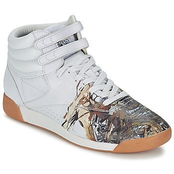Chaussures Femme Baskets montantes Reebok Sport F/S HI INT R12 Blanc
