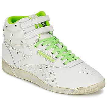 Chaussures Femme Baskets montantes Reebok Sport F/S HI Blanc