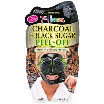 Accessoires textile Masques 7Th Heaven Peel-off Charcoal + Black Sugar Mask