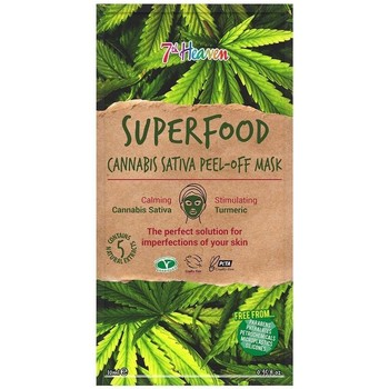Accessoires textile Masques 7Th Heaven Superfood Cannabis Sativa Peel Off Mask