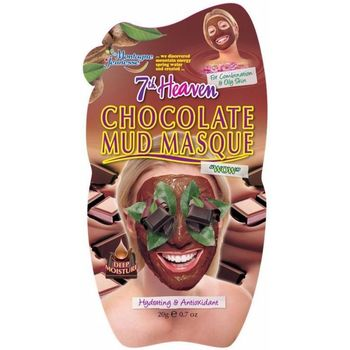 Accessoires textile Masques 7Th Heaven Mud Chocolate Mask 20 Gr