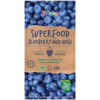 Accessoires textile Masques 7Th Heaven Superfood Blue Berry Mud Mask 10 Gr