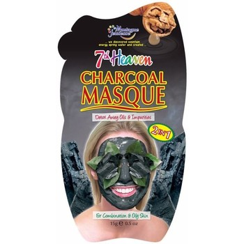 Accessoires textile Masques 7Th Heaven Mud Charcoal Mask 15 Gr