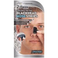 Accessoires textile Masques 7Th Heaven For Men Black Head Nose Strips