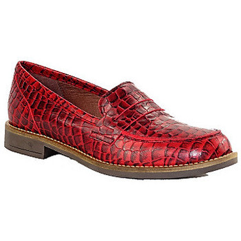 Chaussures Femme Mocassins Maroli 7428 ROUGE CROCO