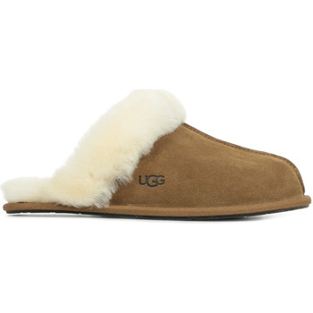 Chaussures Femme Chaussons UGG Scuffette II marron
