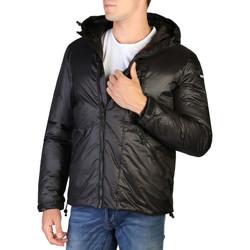 Vêtements Homme Manteaux Alessandro Dell'acqua Alessandro Dell''Acqua - AD8921 Noir