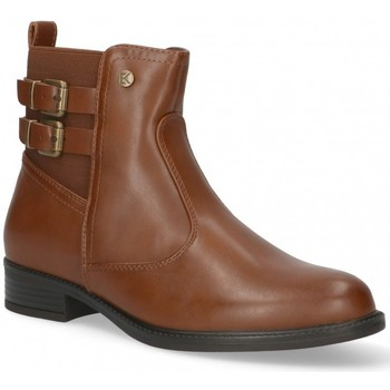 Chaussures Femme Bottines Etika 55094 Marron