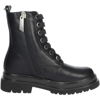 Chaussures Fille Boots 4Us Paciotti 4U-051 Noir