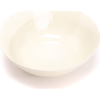 Maison & Déco Vides poches Amadeus Cades Saladier porcelaine Blanc Naturel Albane 8x23x23cm Blanc