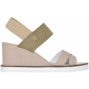 Chaussures Femme Sandales et Nu-pieds Armani jeans 925140 7P534 Beige