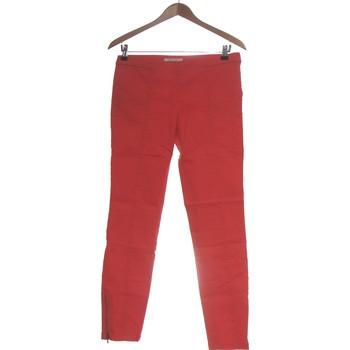 Vêtements Femme Pantalons Camaieu Pantalon Slim Femme  36 - T1 - S Orange