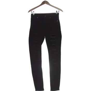 Vêtements Femme Pantalons Cheap Monday Pantalon Slim Femme  38 - T2 - M Noir