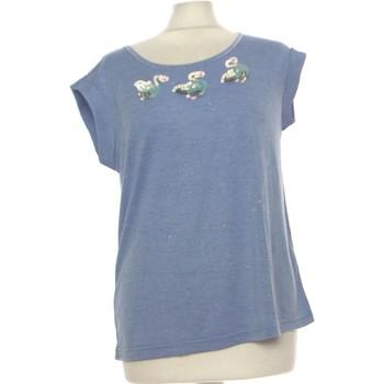 Vêtements Femme Débardeurs / T-shirts sans manche Color Block Débardeur  38 - T2 - M Bleu
