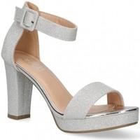 Chaussures Femme Sandales et Nu-pieds Etika 58928 Argenté