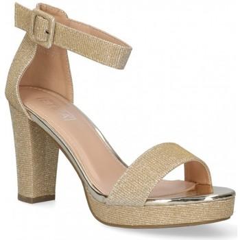Chaussures Femme Sandales et Nu-pieds Etika 58929 Doré