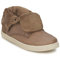 Chaussures Fille Baskets montantes Chipie SABRINA Beige