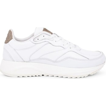 Chaussures Femme Baskets basses Woden Baskets Sophie Leather Blanc