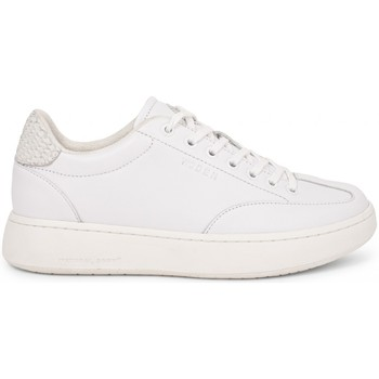 Chaussures Femme Baskets basses Woden Baskets Pernille Leather Blanc