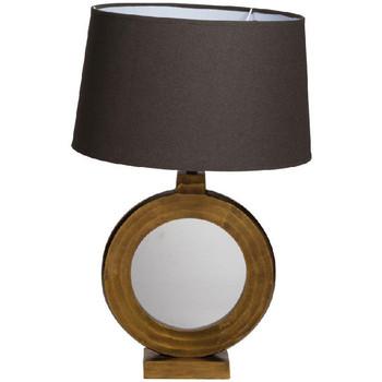 Maison & Déco Lampes à poser Chehoma Lampe ronde dorée Lorentz 38x29cm Doré