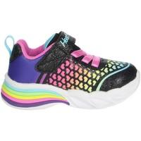 Chaussures Fille Baskets basses Skechers 302312N Noir