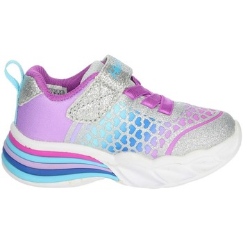 Chaussures Fille Baskets basses Skechers 302312N Argent