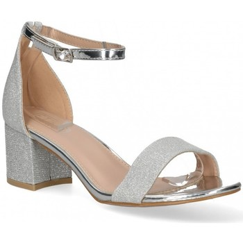 Chaussures Femme Sandales et Nu-pieds Etika 58924 Argenté