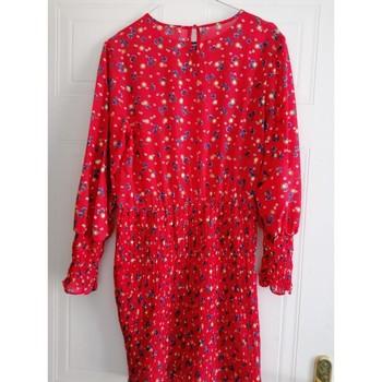 Vêtements Femme Robes courtes Moony Mood Robe mi-saison Rouge
