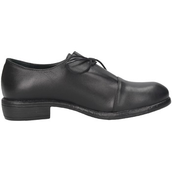 Chaussures Femme Richelieu Hersuade 3504 French shoes Femme Noir