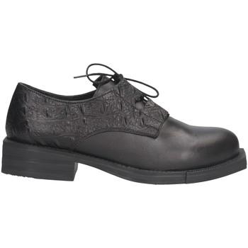 Chaussures Femme Richelieu Hersuade 3300 French shoes Femme Noir