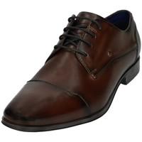 Chaussures Homme Mocassins Bugatti Chaussures de ville Morino  Ref 54295 Marron Marron
