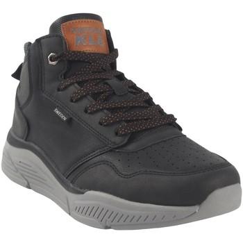 Chaussures Homme Baskets montantes Sweden Kle Botín caballero  183561 negro Noir