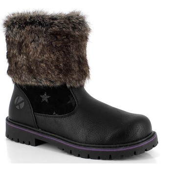 Chaussures Fille Boots Kimberfeel CLAIRE Noir