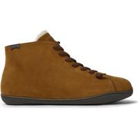 Chaussures Homme Bottes ville Camper Baskets cuir Peu Cami marron