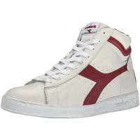 Chaussures Homme Baskets montantes Diadora GAME L HIGH WAXED BIANCHE Blanc
