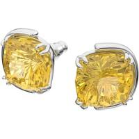 Montres & Bijoux Femme Boucles d'oreilles Swarovski Boucles d'oreilles  Harmonia Cristal jaune Blanc