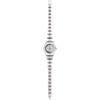 Montres & Bijoux Femme Montres Mixtes Analogiques-Digitales Swatch Montre  Lilibling Grey collection Irony Lady Blanc