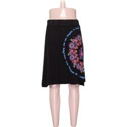 Vêtements Femme Jupes Desigual Jupe  - M Noir