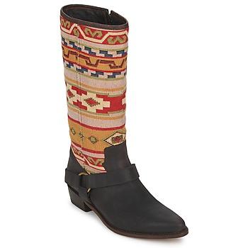 Botte ville Sancho Boots CROSTA TIBUR GAVA Marron-rouge 350x350
