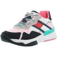 Chaussures Femme Baskets basses Tommy Hilfiger Baskets  ref_50391 Multi Multicolore