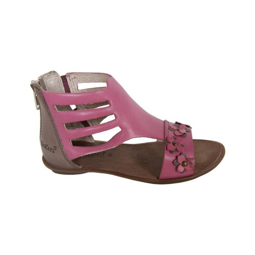 Chaussures Fille Sandales et Nu-pieds Kickers 414430-30 ZADIG Rosa